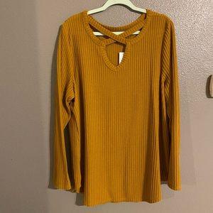 Mustard Yellow sweater 🍁 🍁